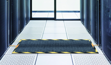 Kable-Mat - Kable-Mat in a corridor for preventing tripping hazards