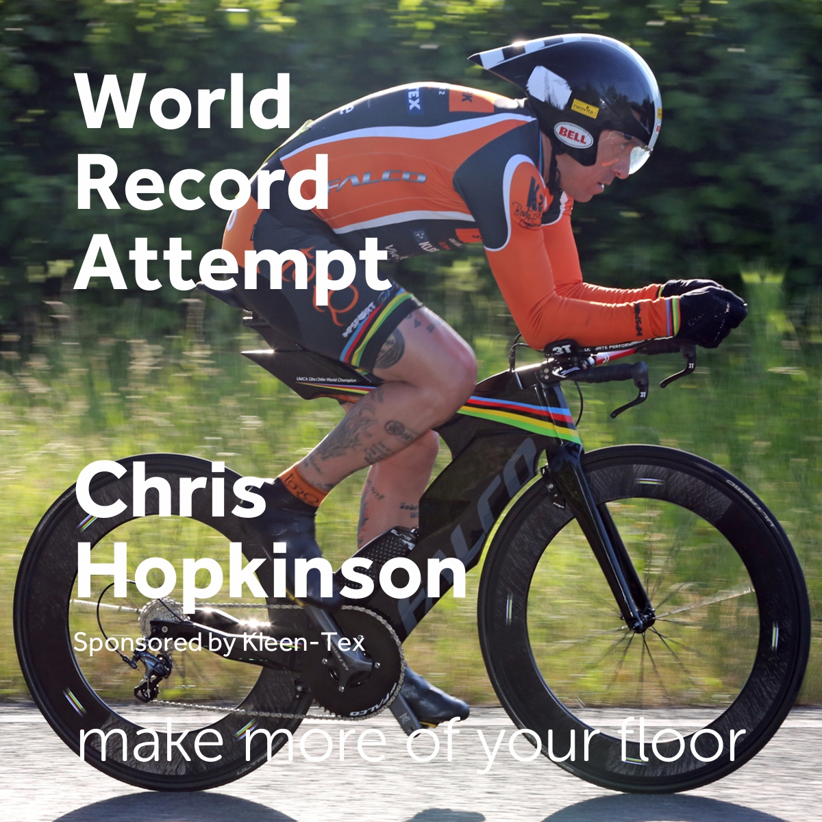 New World Record Attempt by Chris Hopkinson
