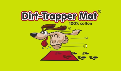Dirt-Trapper Mat Official Logo